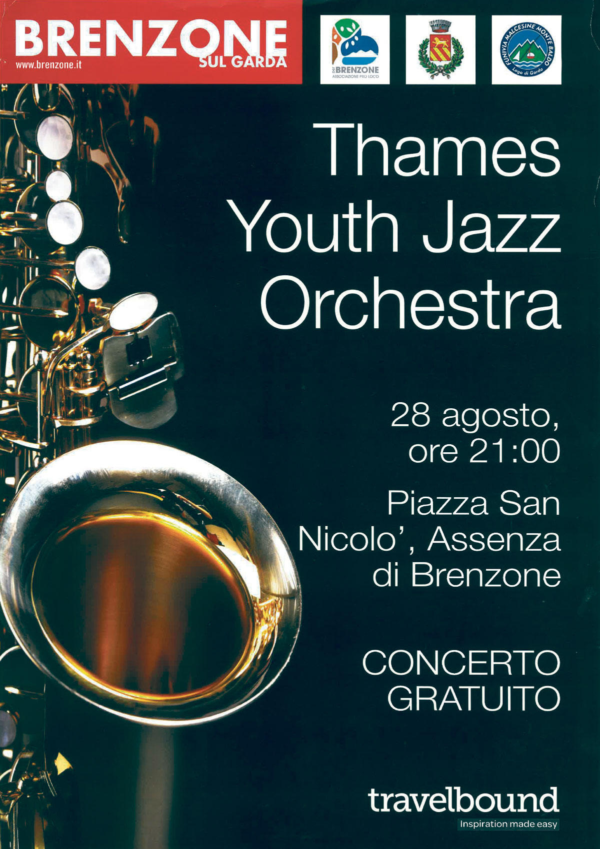 Thames Youth Jazz orchestra: 28.08.2018